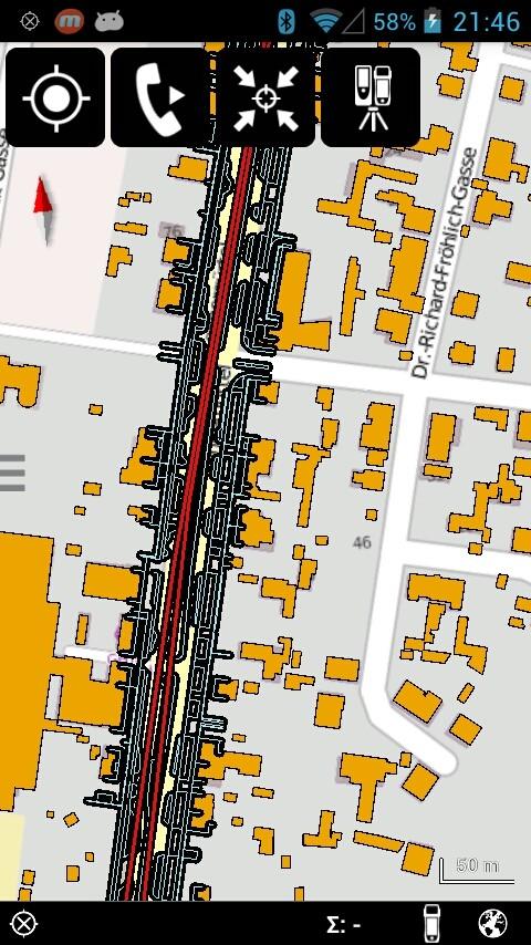 Importieren Sie eigenen Daten im Shapeformat oder verwenden Sie Open Street Map als Standard Hintergrundlayer.