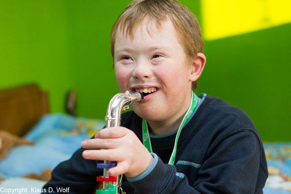 Reportage: Kinder mit Down-Syndrom. Für don bosco Medien