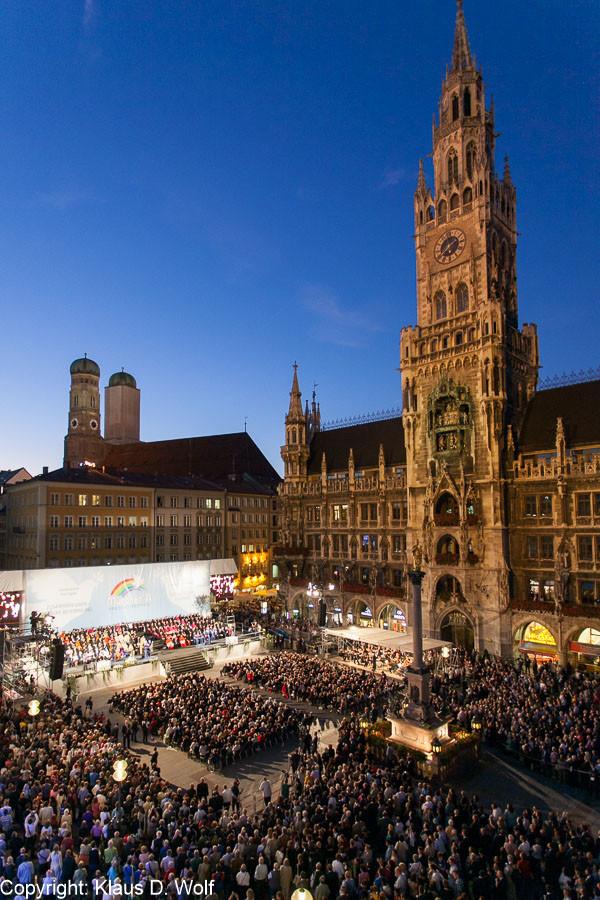 Veranstaltungsfotografie, Friedenstreffen der Weltreligionen, München
