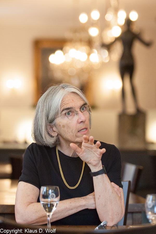 Bildjournalist München: Donna Leon.Presseporträt für VIA Magazin (SBB)