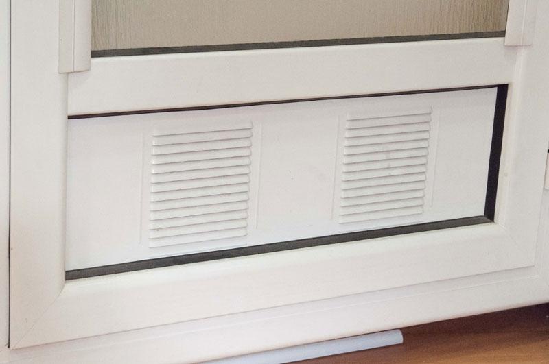 Rejillas de ventilacion para puertas de cocina a lavadero