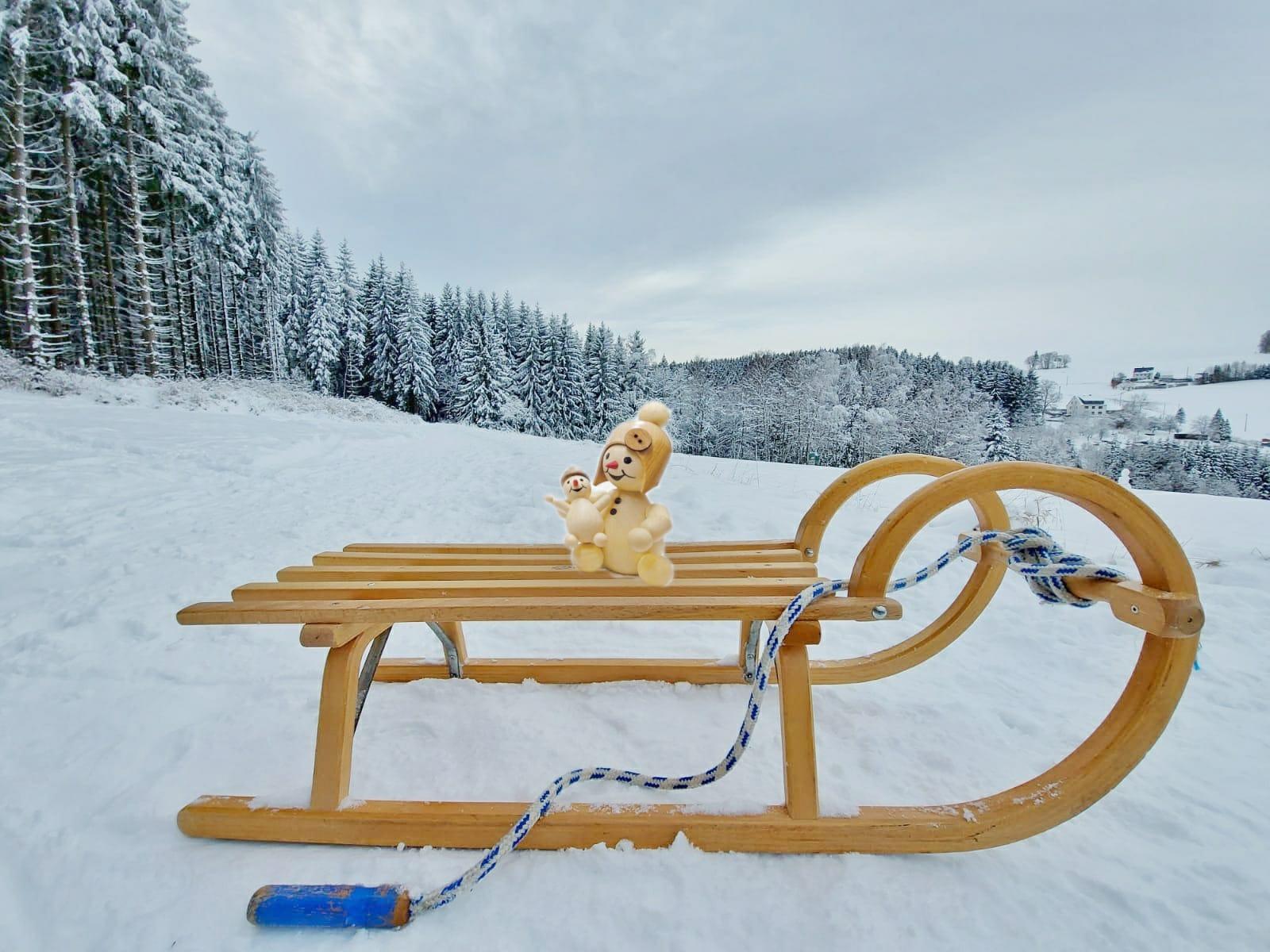 Winterliches aus dem Erzgebirge