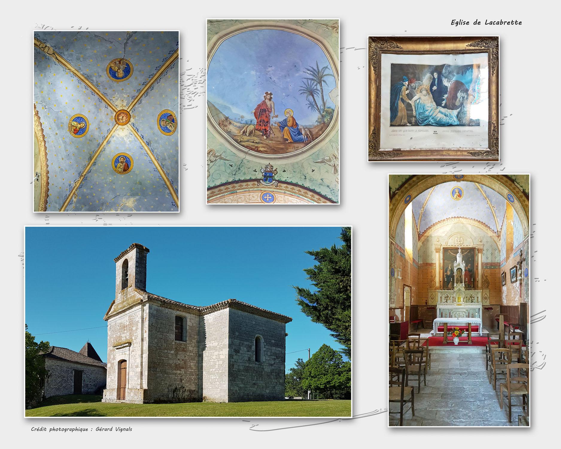 Eglise de Lacabrette