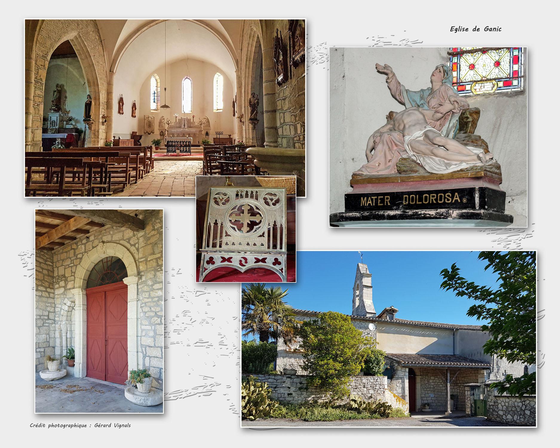 Eglise de Ganic