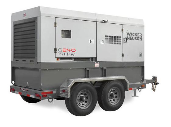 Generador Wacker G240S