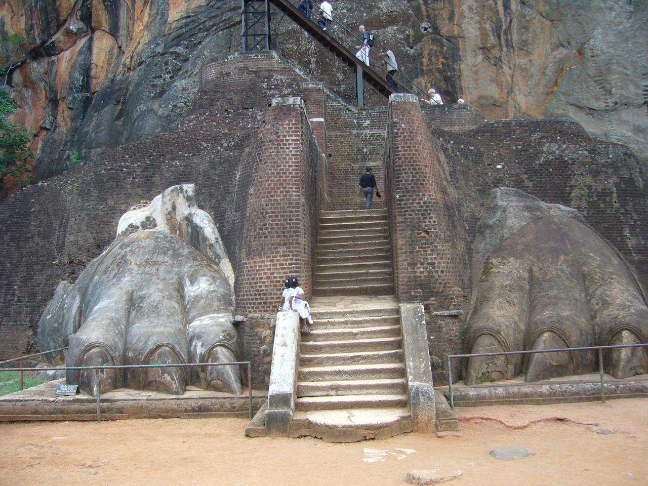 Eingang zum Aufstieg, Sigiriya