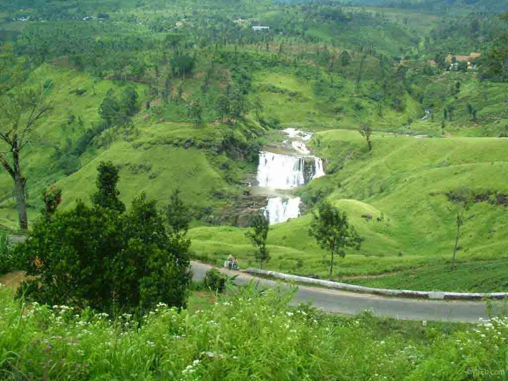St. Clair Wasserfälle, Nuwara Eliya