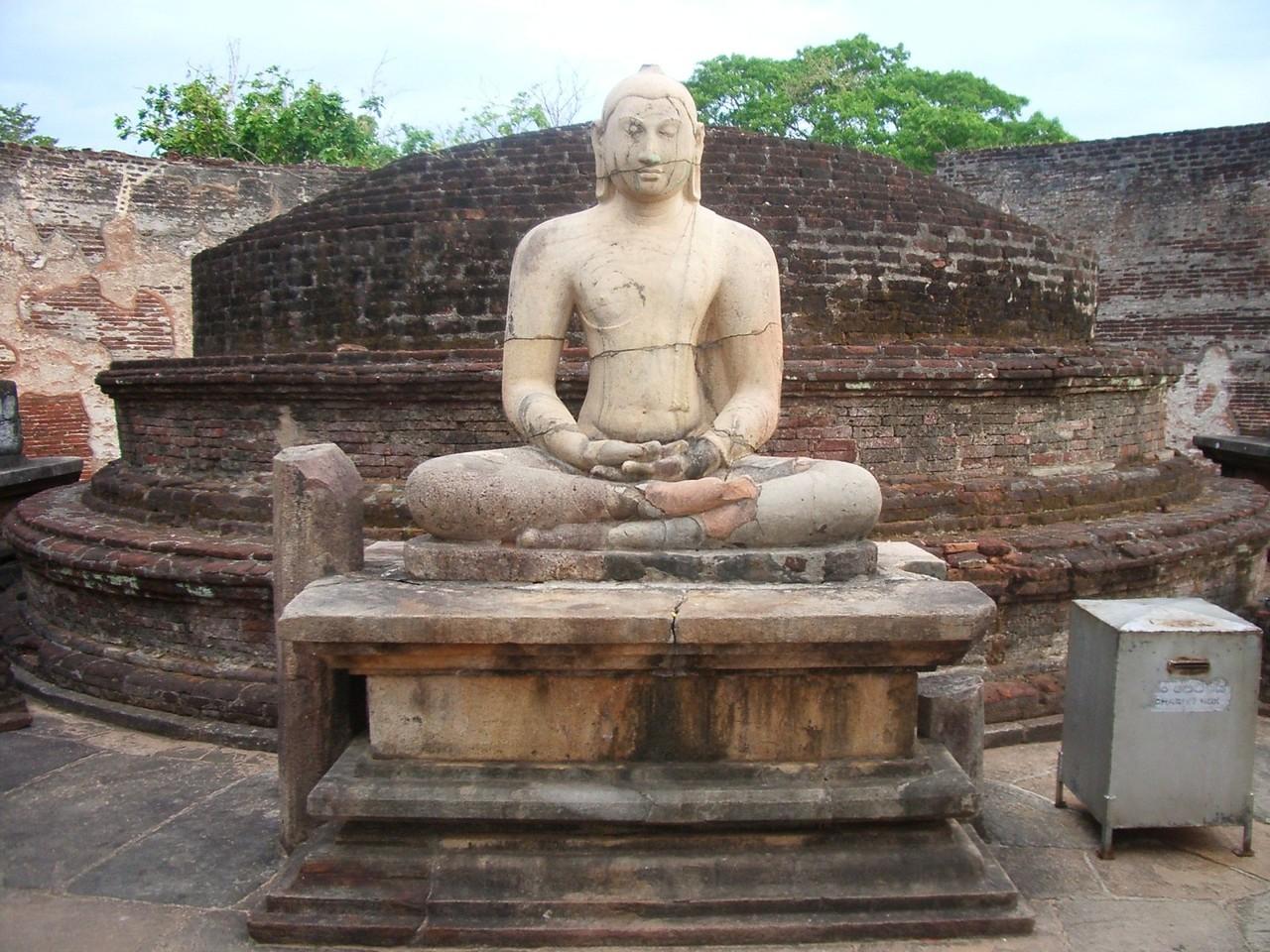 Buddha Statue, Polonnaruwa