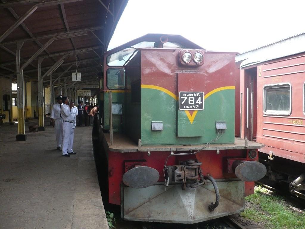 Nuwara Eliya, Bahnhof