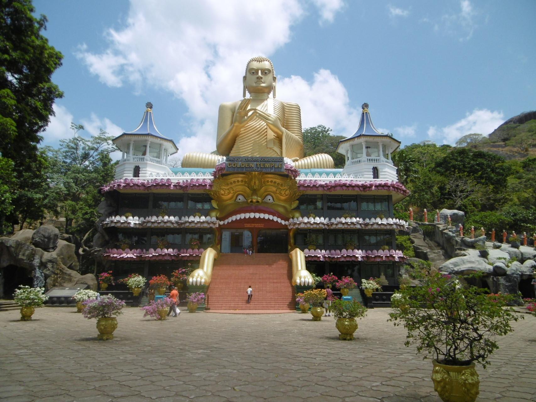 Golden Tempel, Dambulla