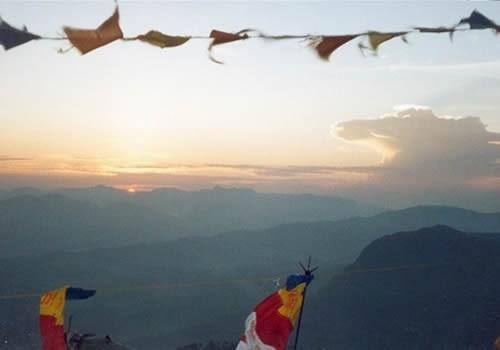 Sonnenaufgang auf dem Adam´s Peak