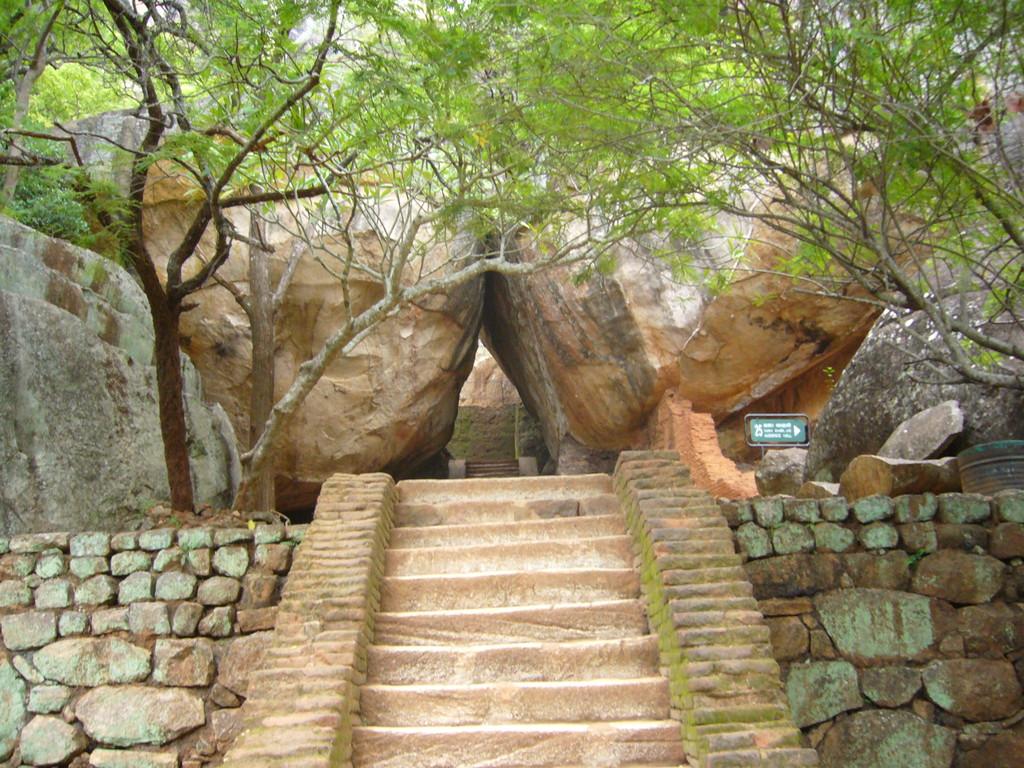 Die Lustgärten unterhalb vom Löwenfelsen