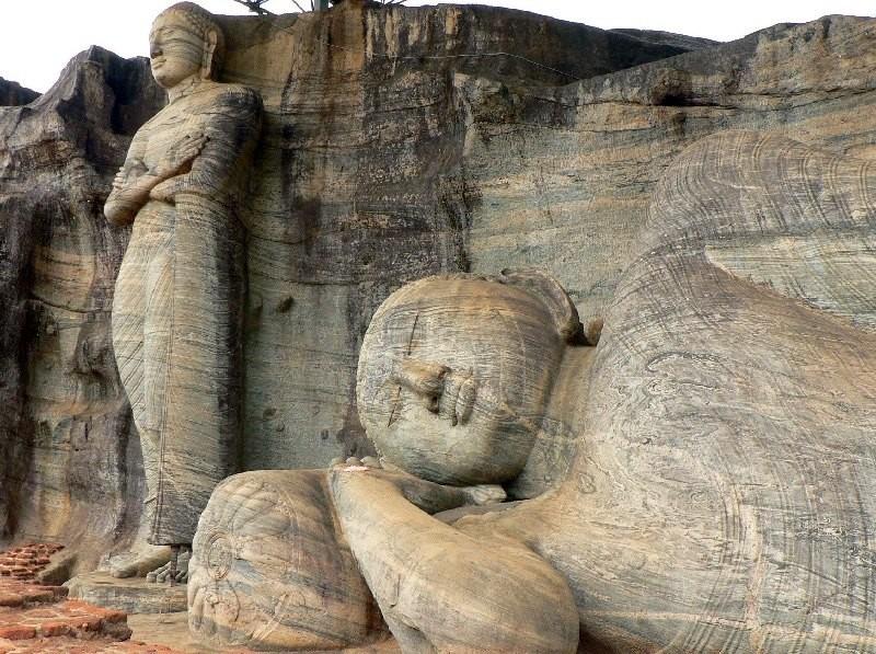 Buddha Statuen, Polonnaruwa
