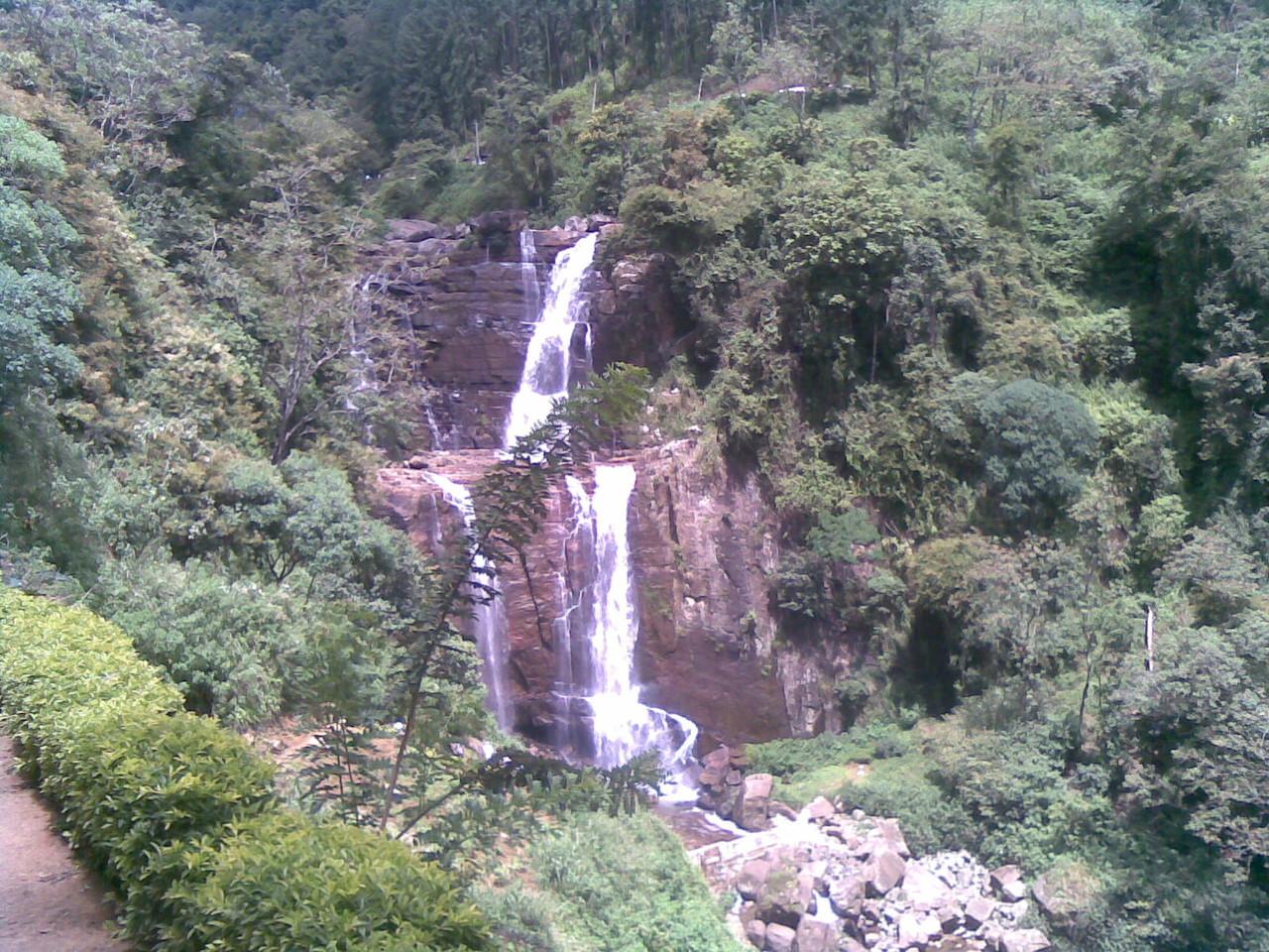 Wasserfälle im Hochland