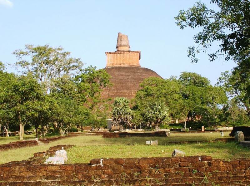 Pilger- und Ausgrabungsstätte, Anuradhapura