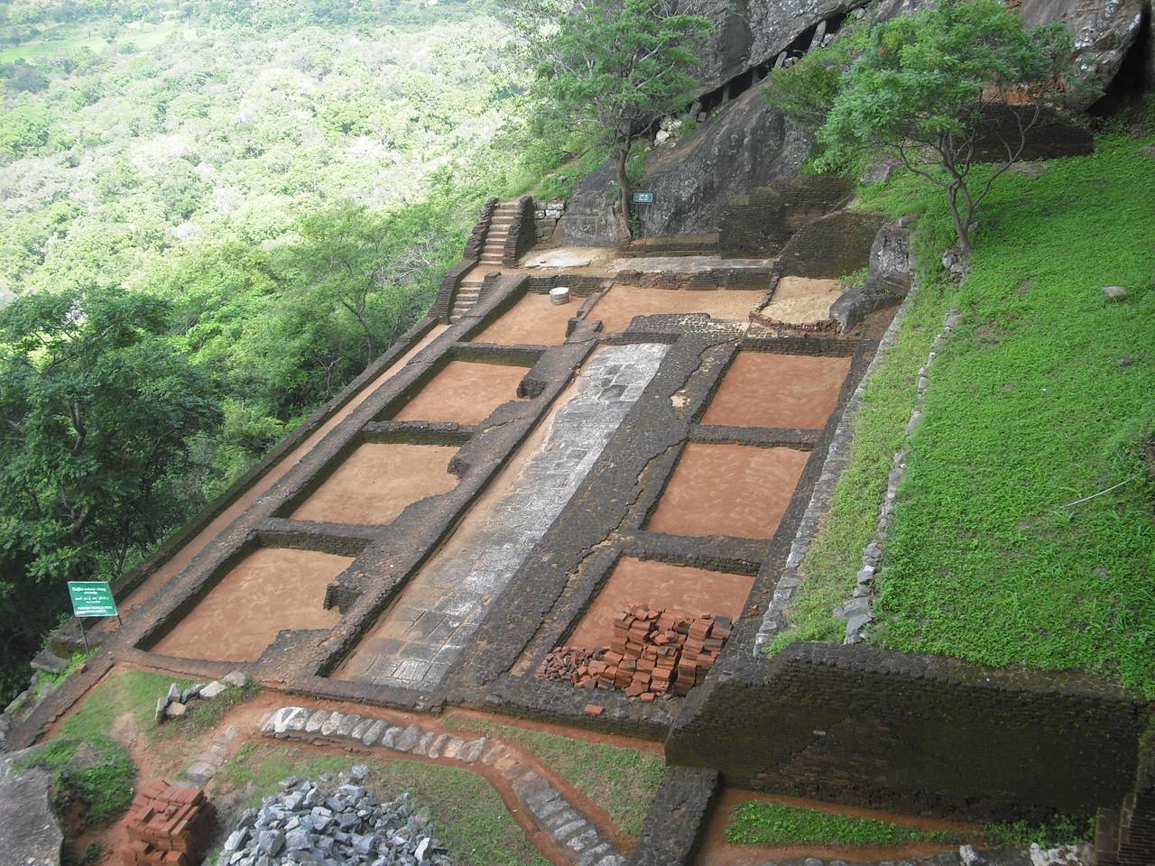Auf der Mittelstation, Sigiriya