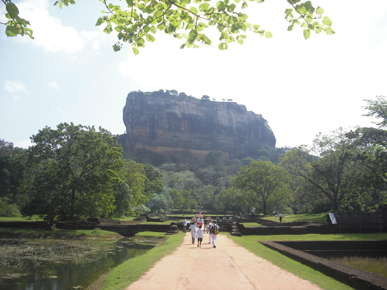 Löwenfelsen, Sigiriya