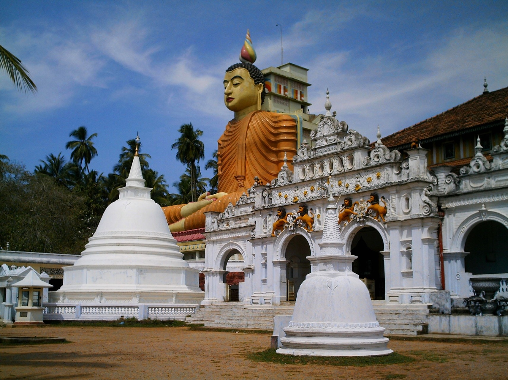 Besuch im Wawrukannala Tempel