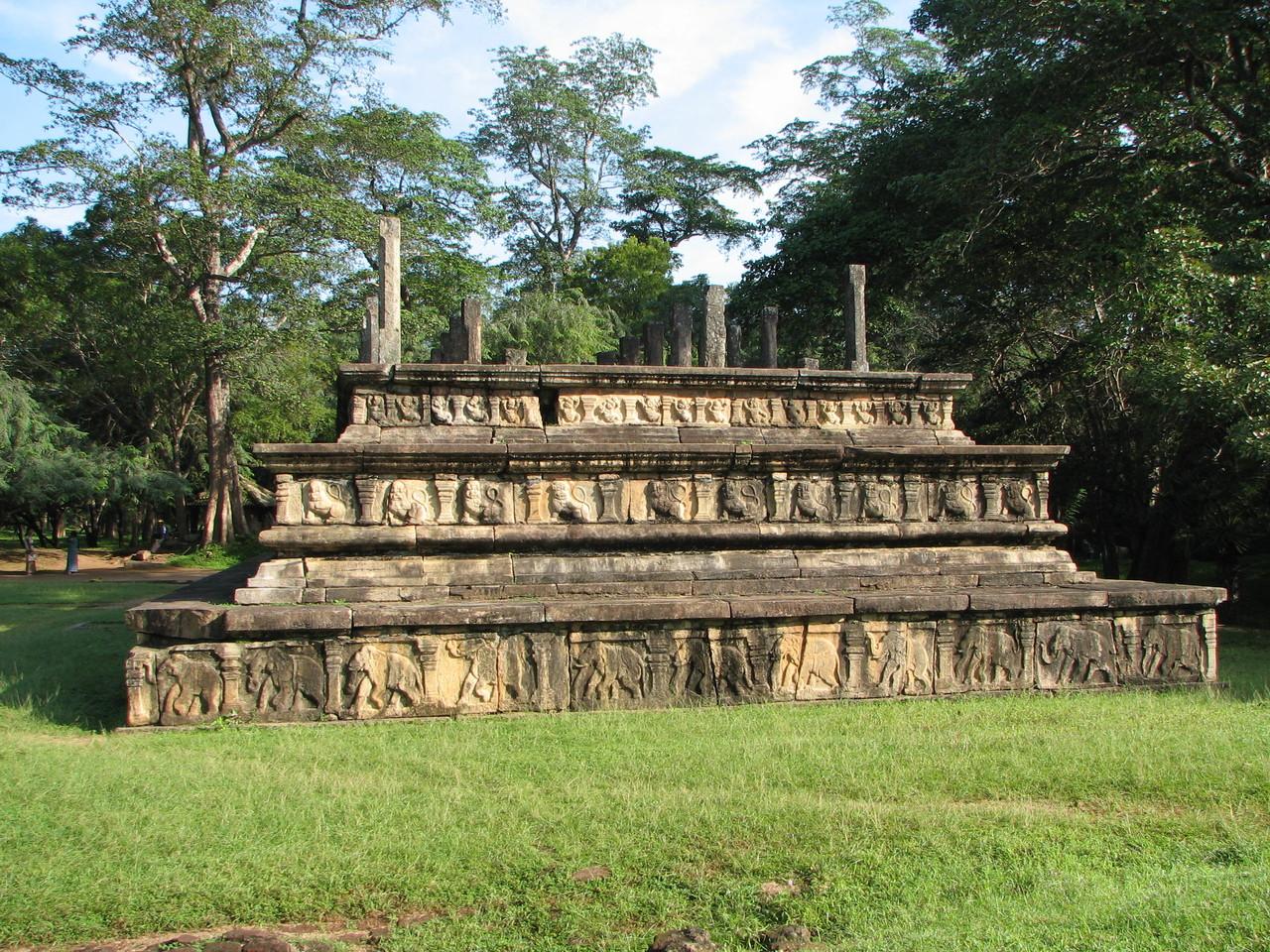 Palastanlagen, Polonnaruwa