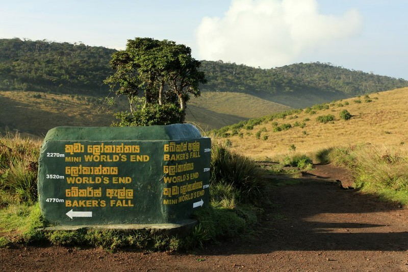 "Wanderung im Horton Plains Nationalpark zum ""World´s End"""