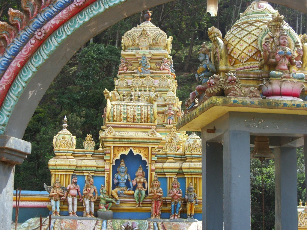Hindu Tempel, Nuwara Eliya