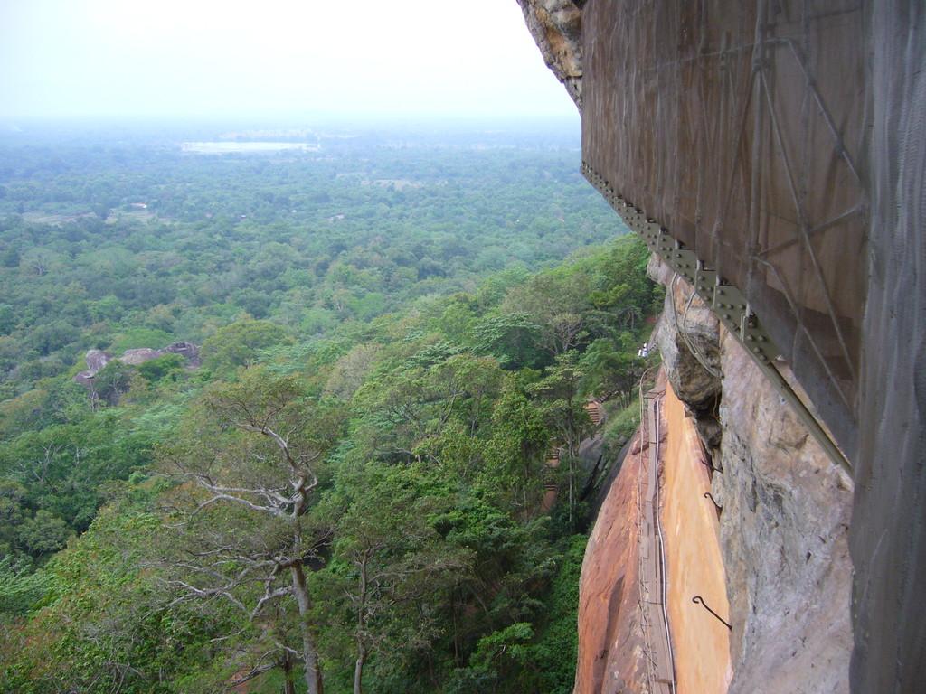 Ausblick von der Mittelstation, Sigiriya
