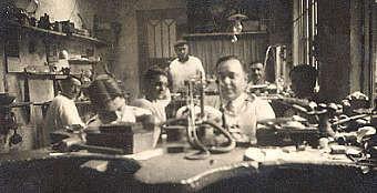 L'atelier en 1946