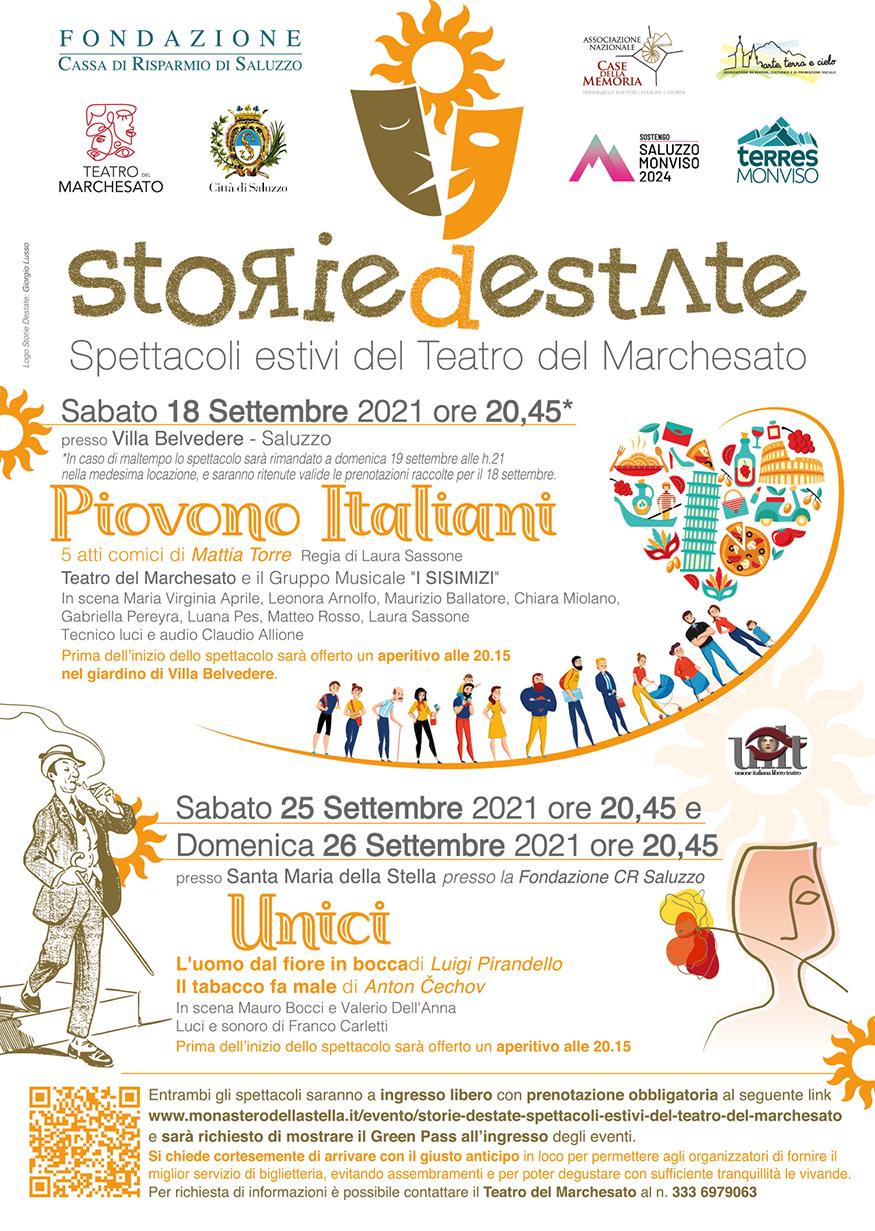 """""""STORIE DESTATE"""" - Il ritorno del Teatro del Marchesato"""