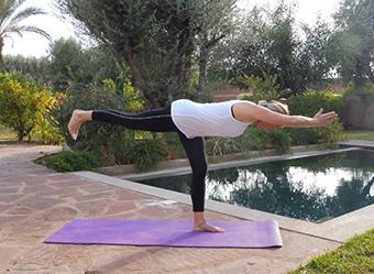 Ly Reiki Yoga Marrakech Villa jardin nomade