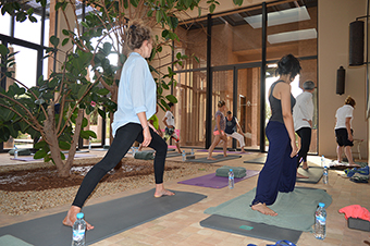 Yoga marrakech royal palm