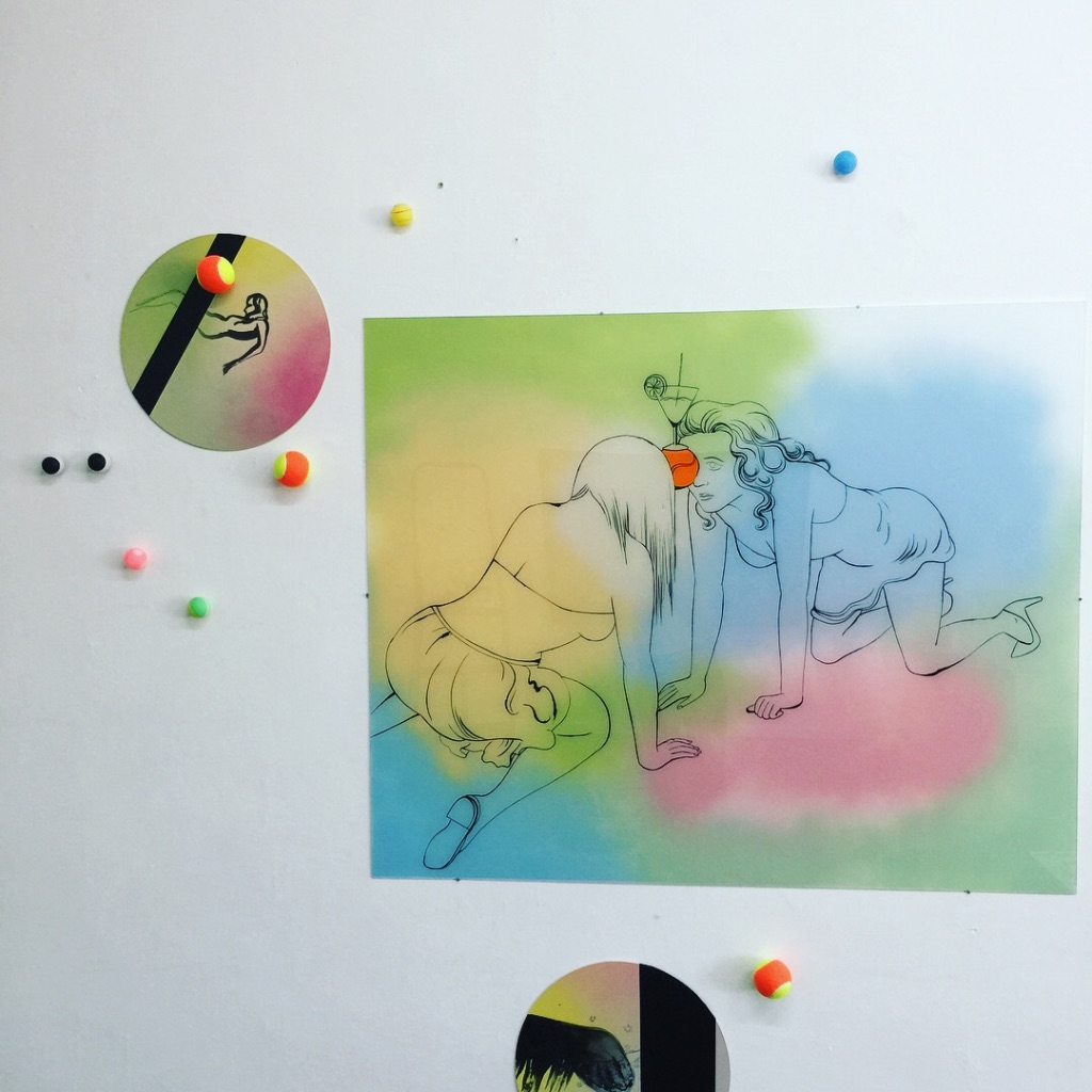 Navratilova: Katharina Gschwendtner Malerei Zeichnung