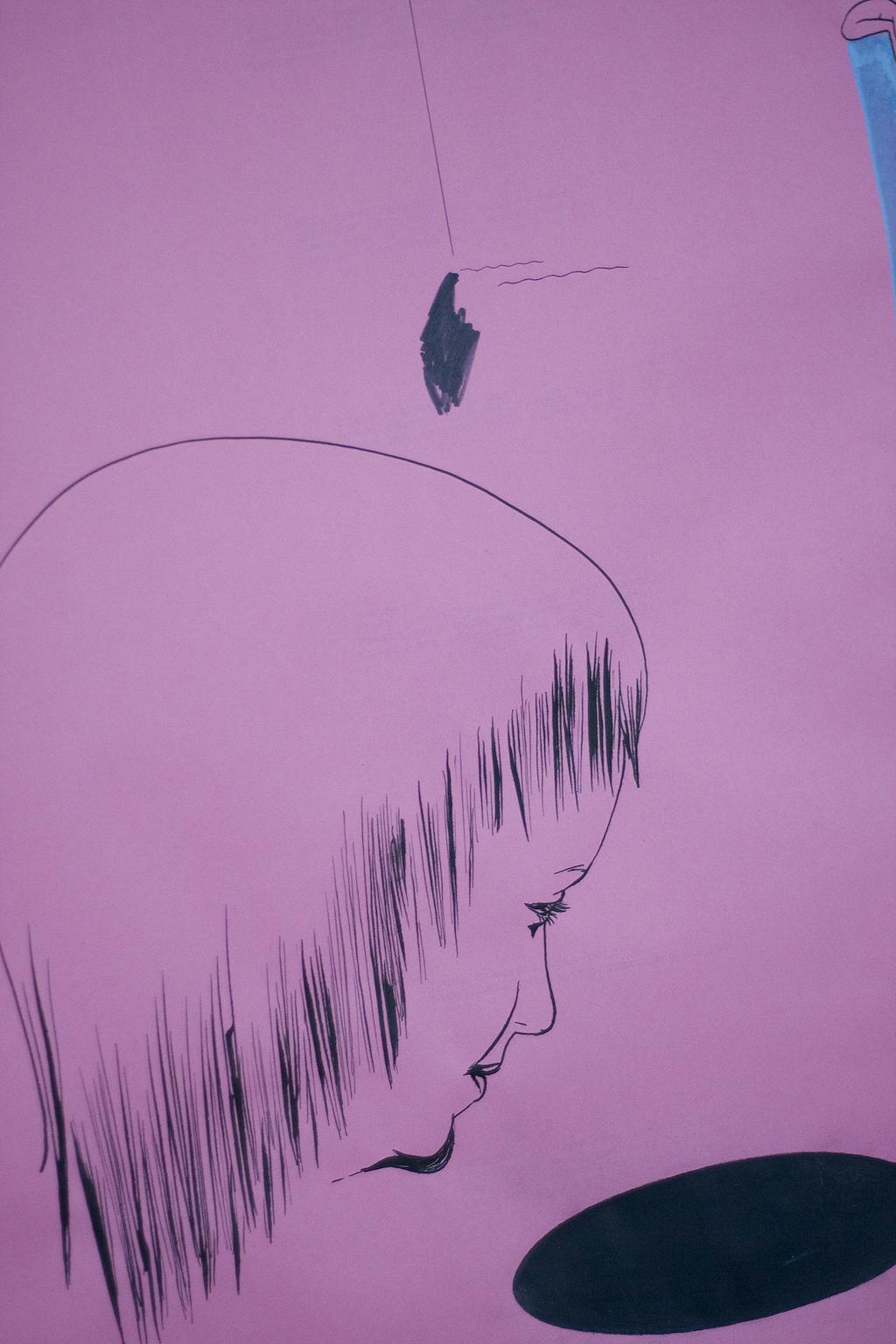 Servicewüste Augenweide, gemeinsame Schau mit Anne Vagt: Katharina Gschwendtner Malerei Zeichnung