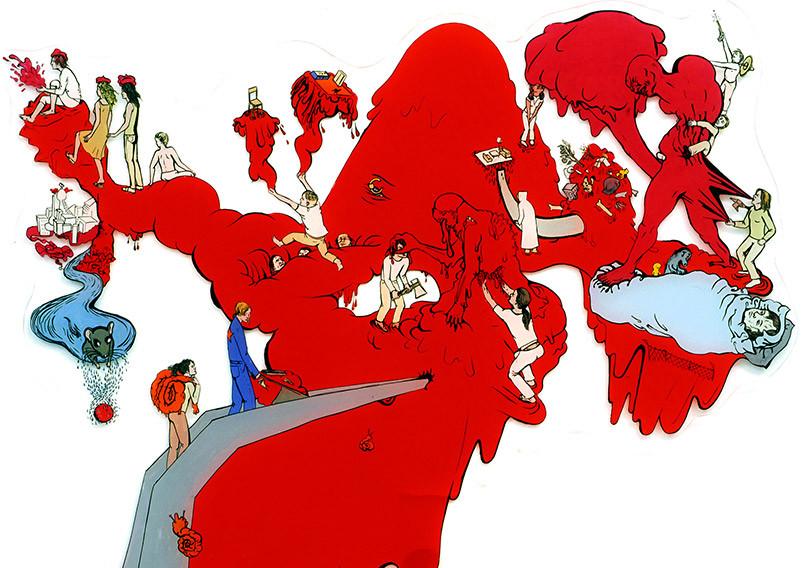 Afrika: Katharina Gschwendtner Malerei Zeichnung