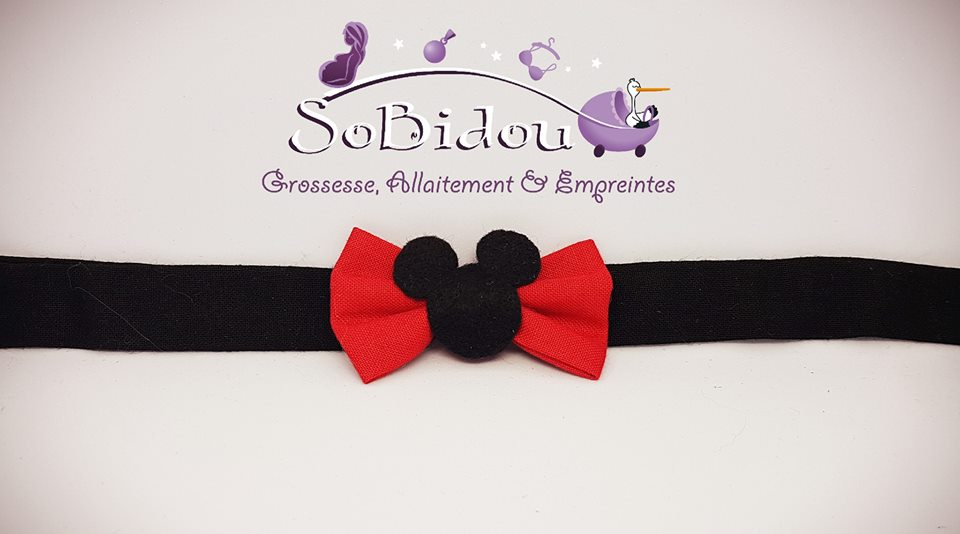 Noeud Papillon Mickey 8€