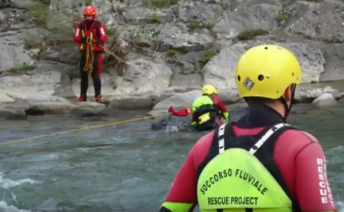 ANC Rescue corso Tecnico Soccorritore Fluviale 2019