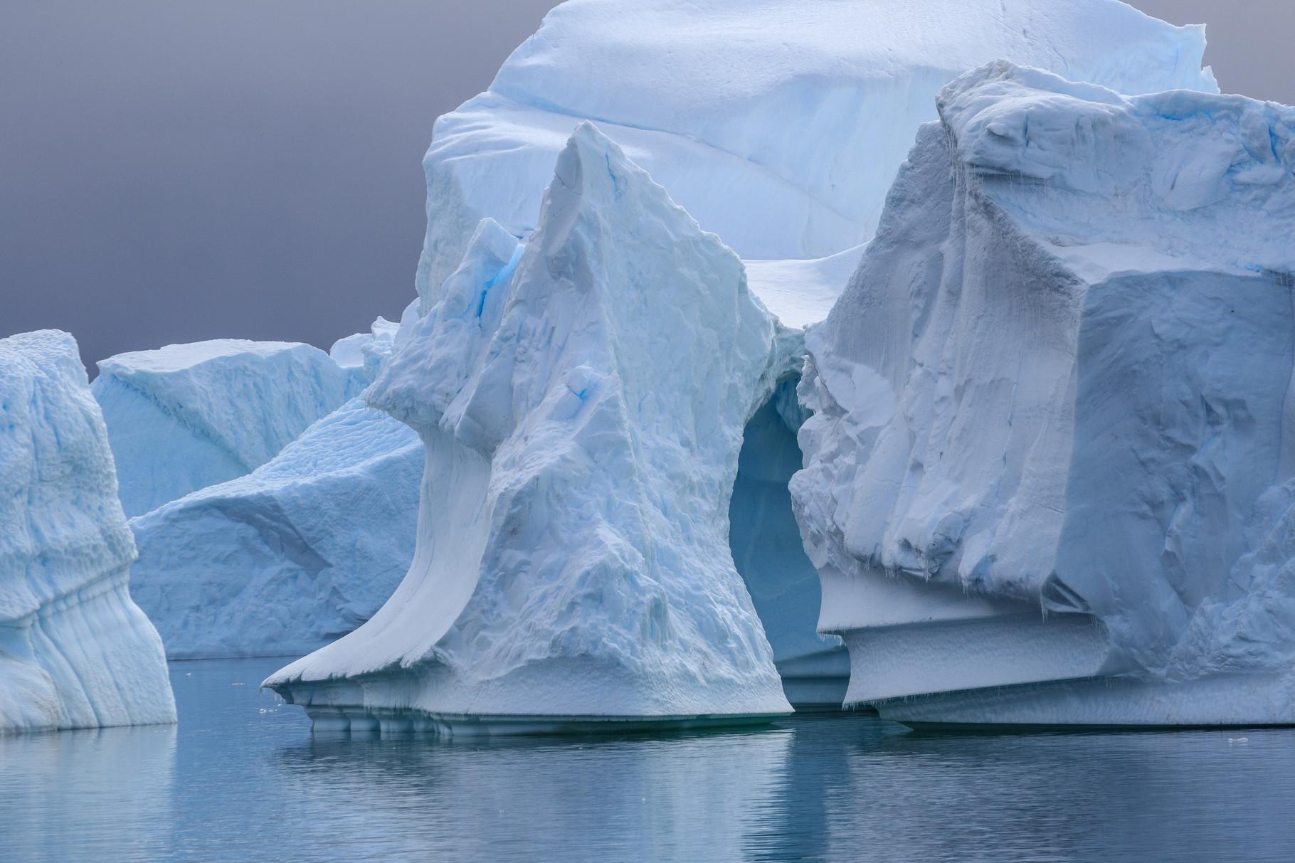 Segelreise mit der Bark Europa in die Antarktis: Pleneau