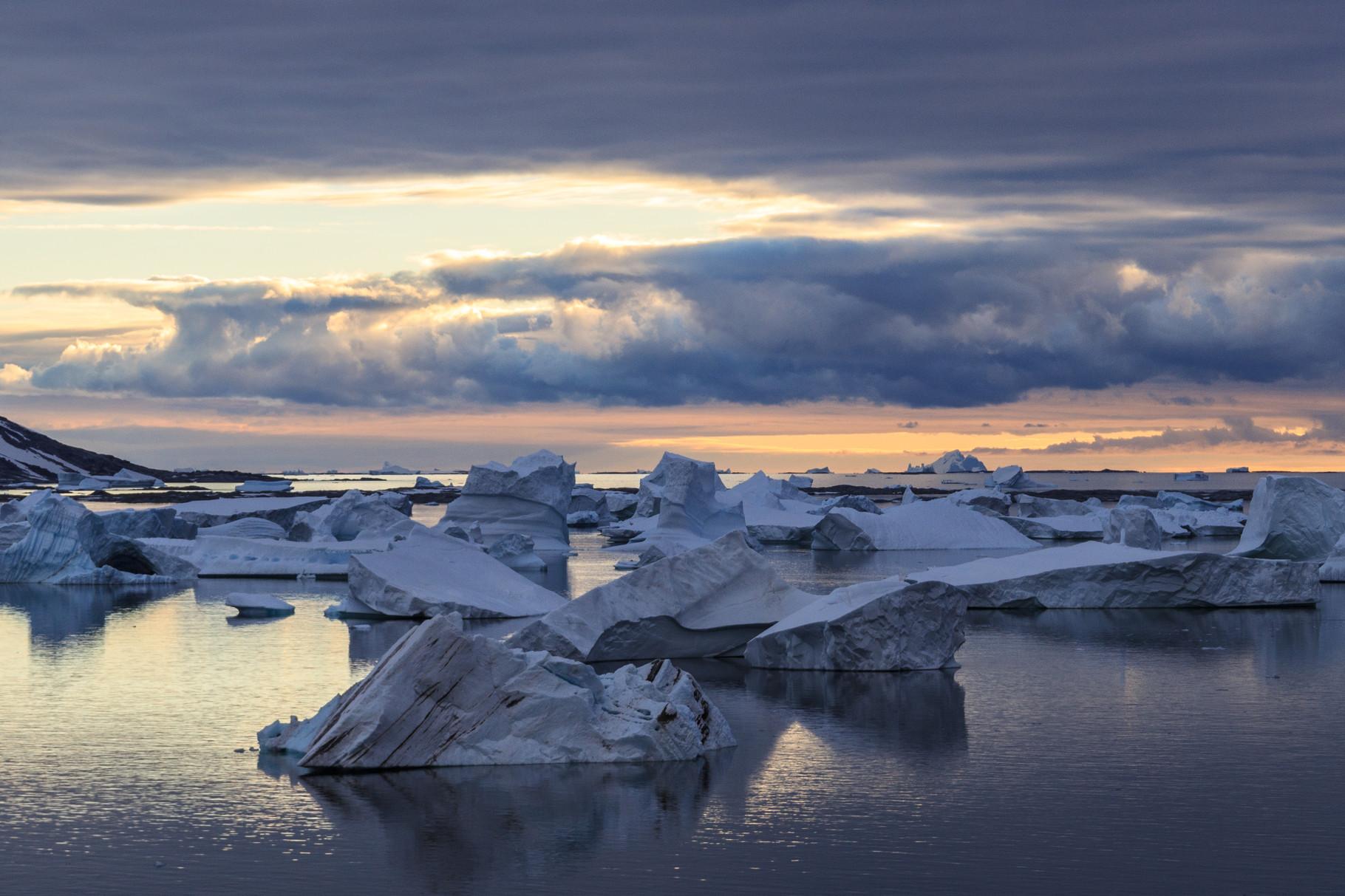 Segelreise mit der Bark Europa in die Antarktis: Booth Island