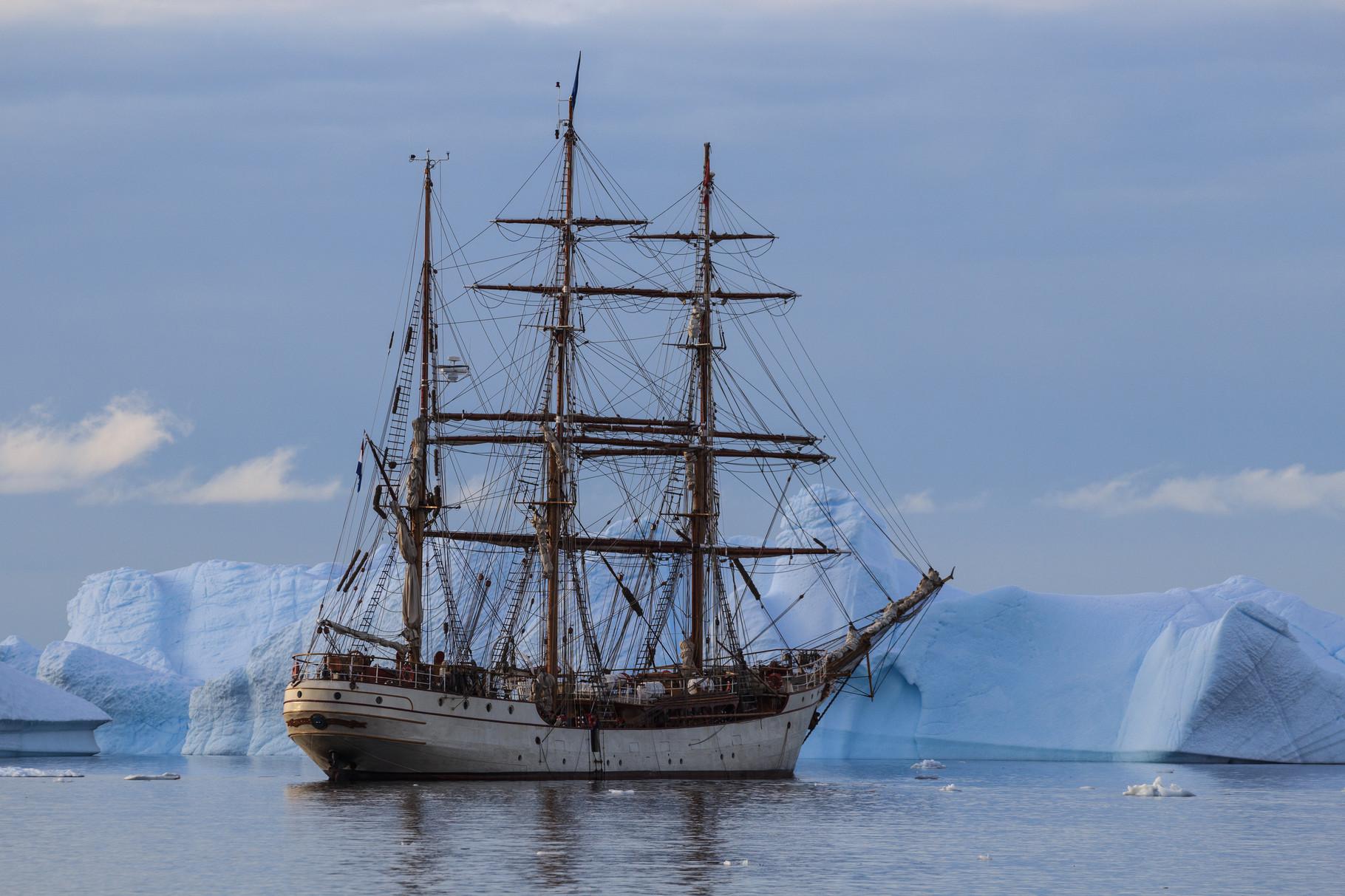Segelreise mit der Bark Europa in die Antarktis