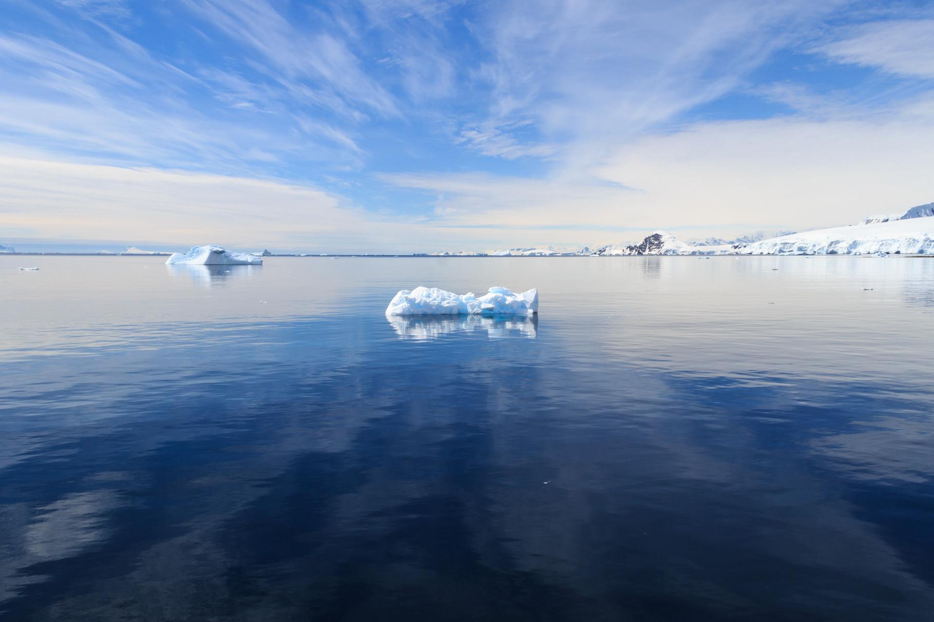 Segelreise mit der Bark Europa in die Antarktis: Wilhelmina Bay