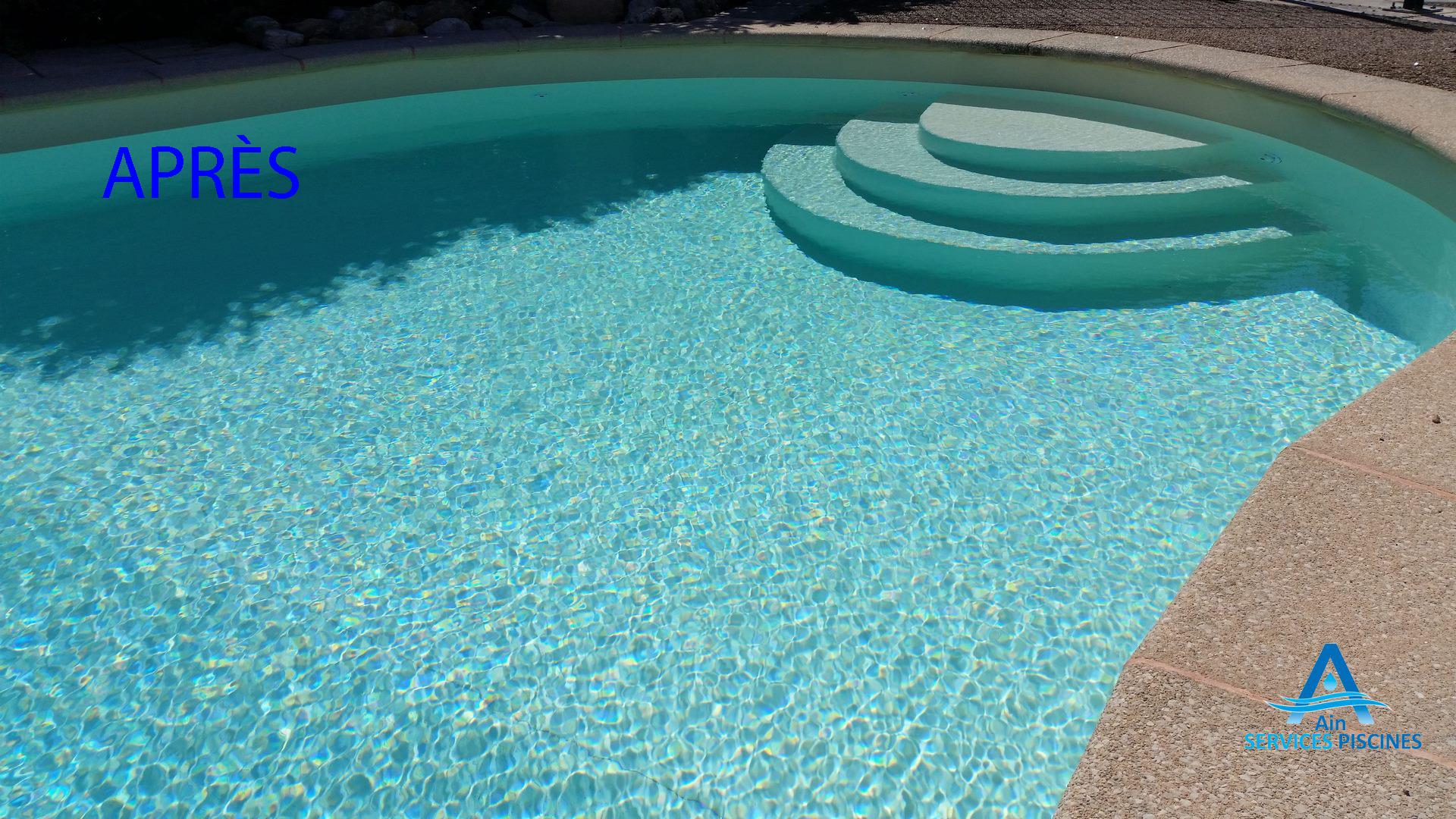 Rénovation d'une piscine à Viriat