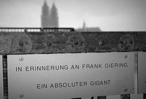 In Erinnerung an Frank Giering (Hubbrücke, Magdeburg)
