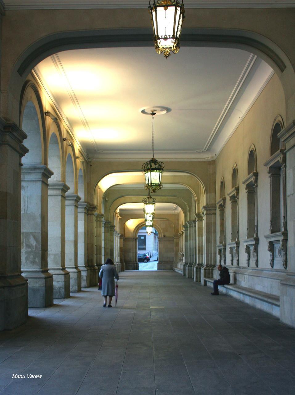 Soportales Ayuntamiento de La Coruña