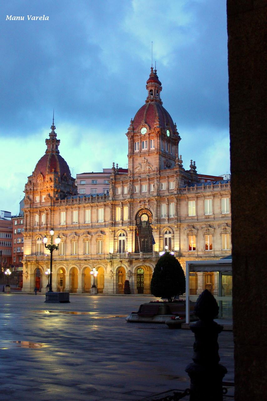 Ayuntamiento de La Coruña - Plaza de María Pita