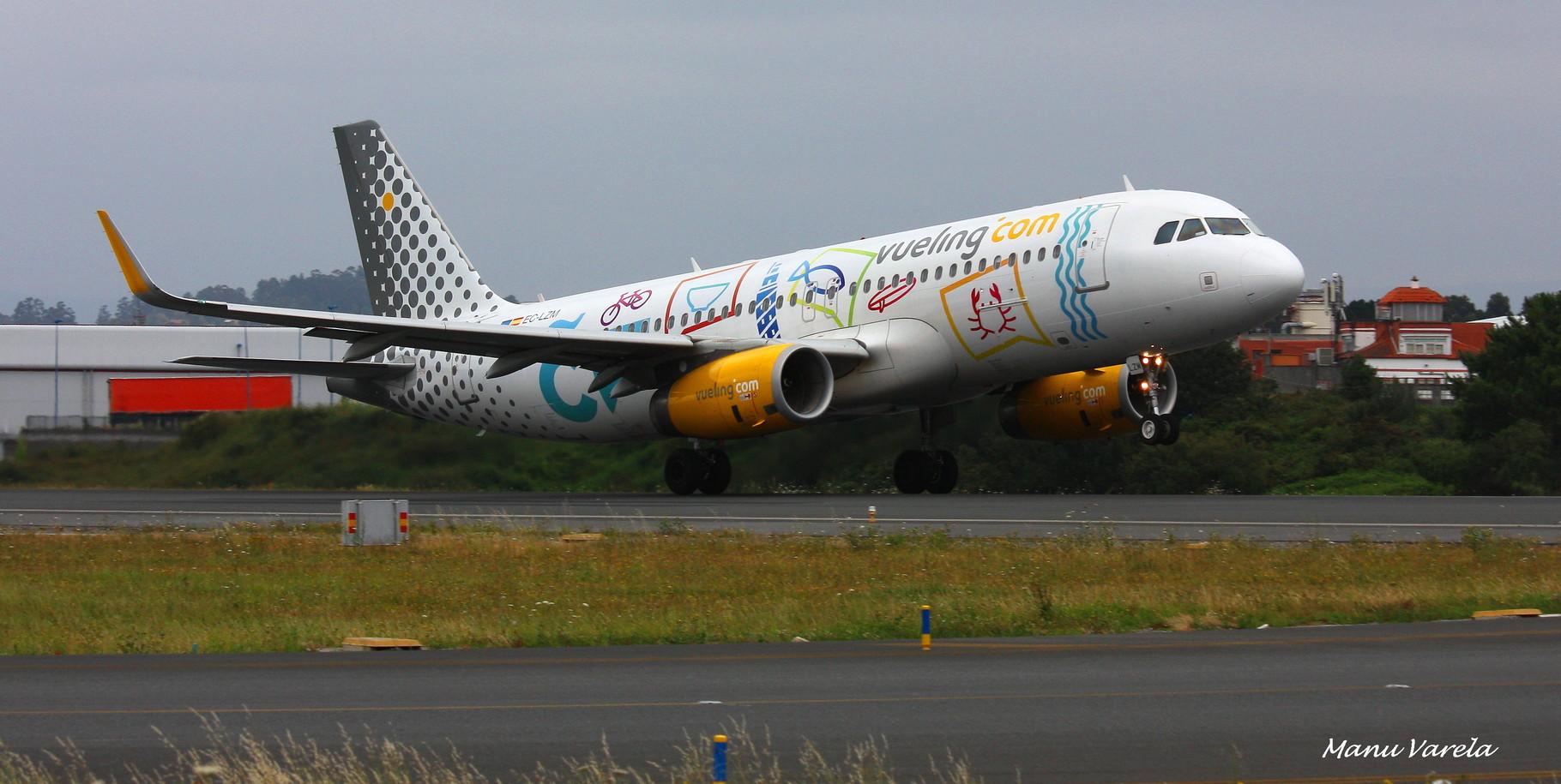 A320 en plena rotación 21 LCG