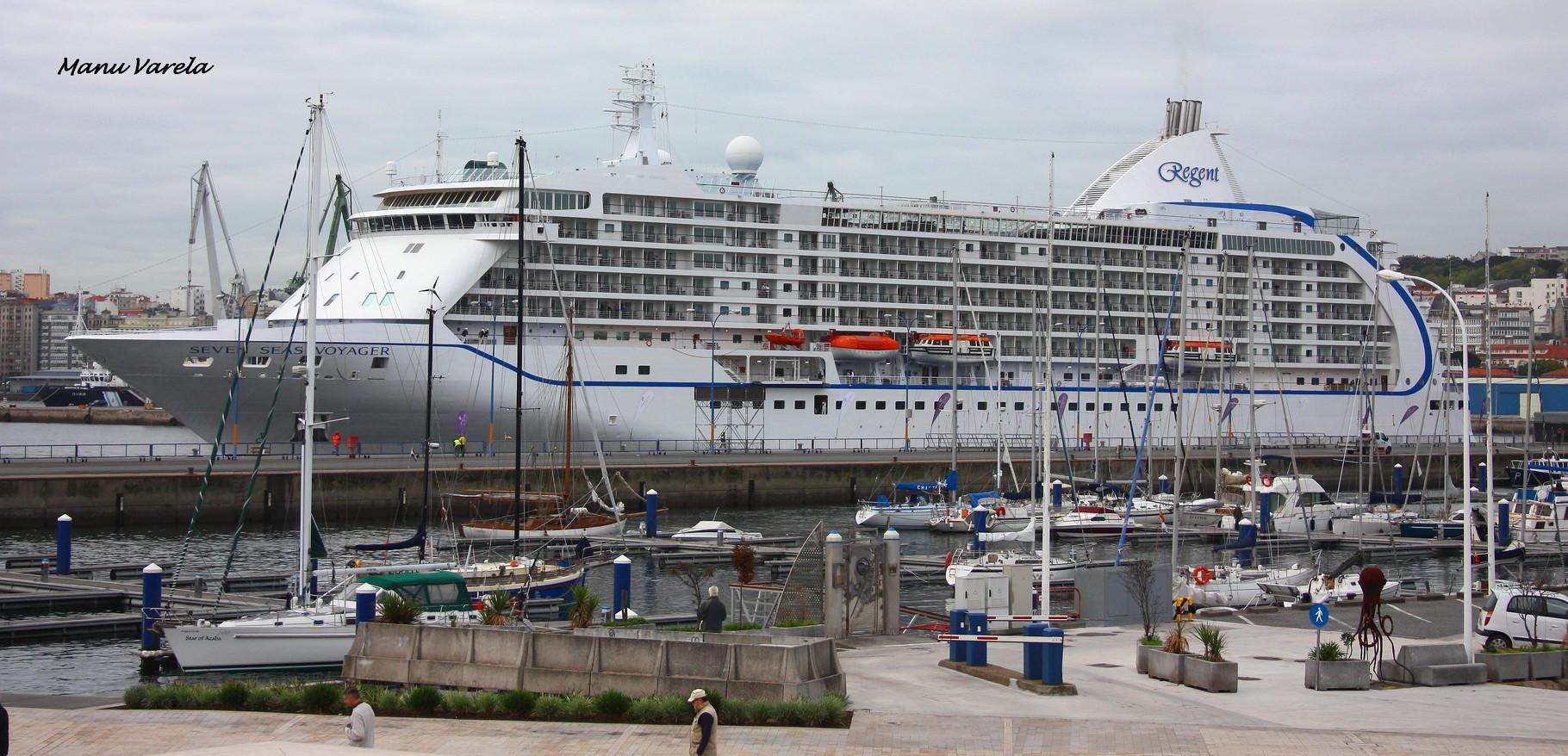 Seven Seas Voyager - Puerto La Coruña