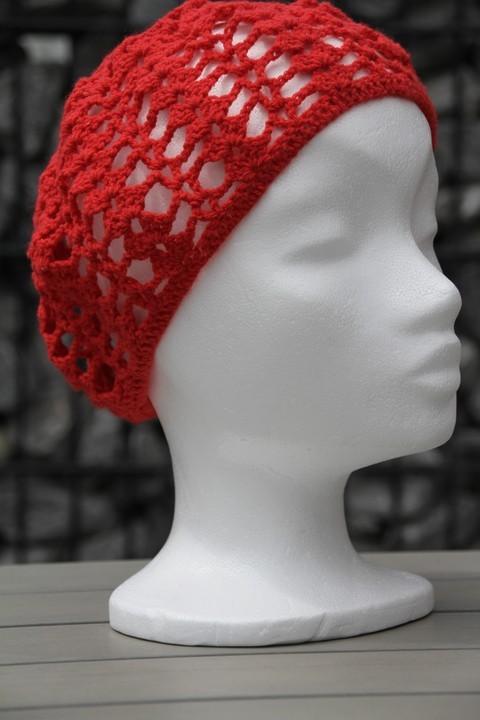 Sommermütze / crochet summer hat