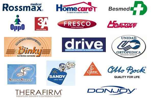 Productos ortopedicos de las mejores marcas