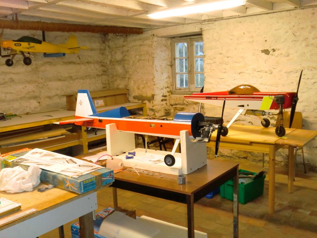 Second atelier de construction