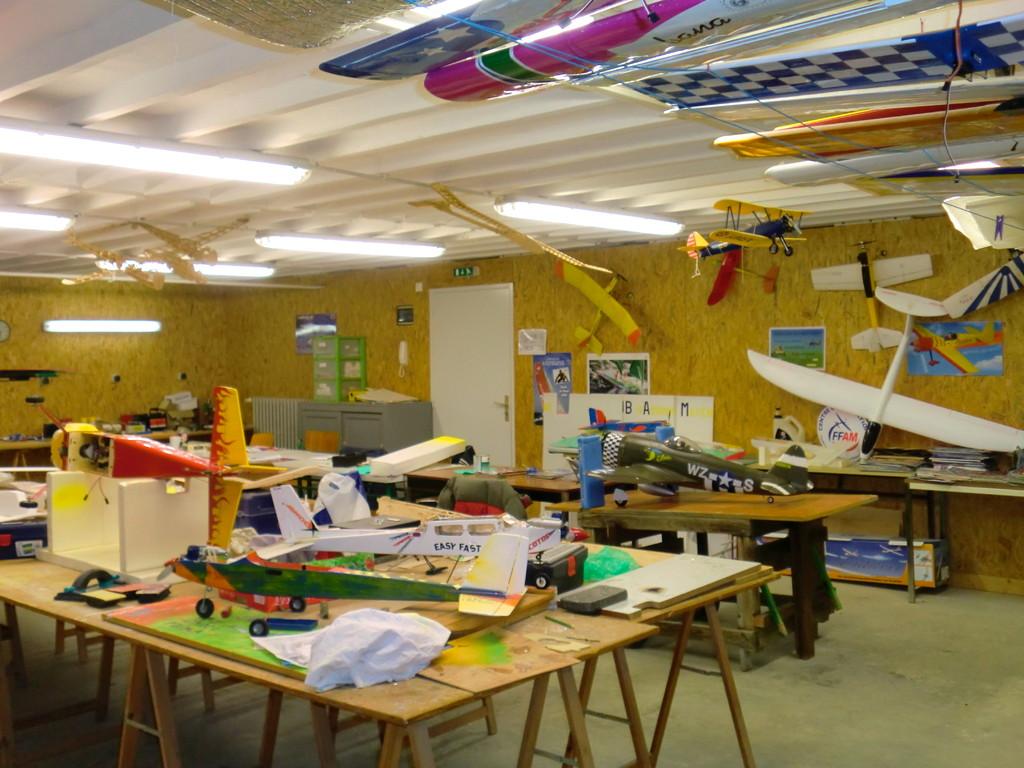 Atelier de construction numero un