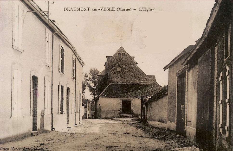 L'église dans les années 1800
